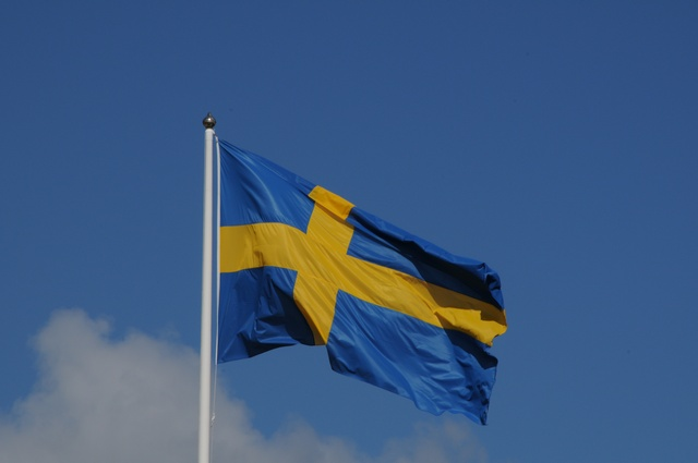 Svensk flag foto © biopix: n sloth